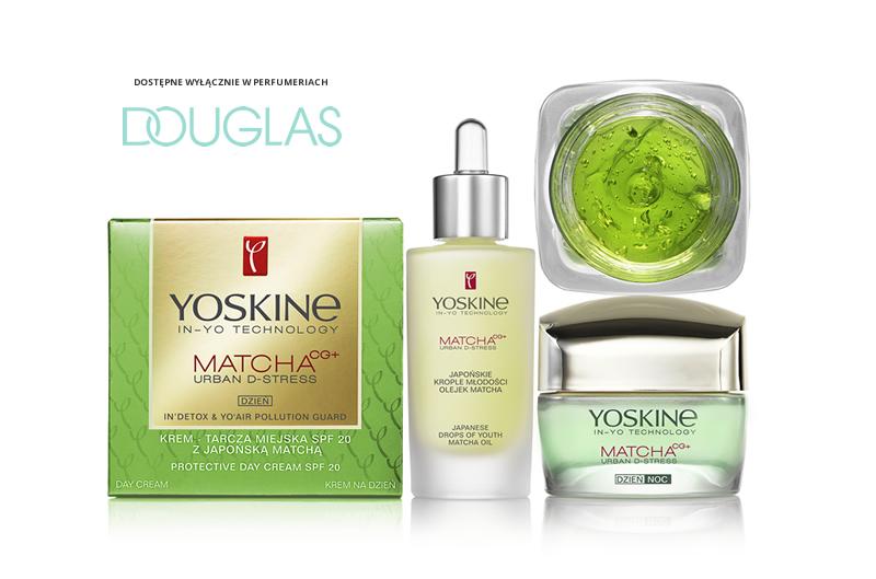 YOSKINE MATCHA CG + URBAN D-STRESS