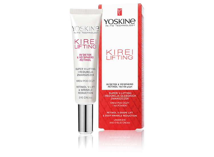 UNDER-EYE AND EYELID CREAM SUPER V-LIFT & REDUCTION OF DEEP WRINKLES