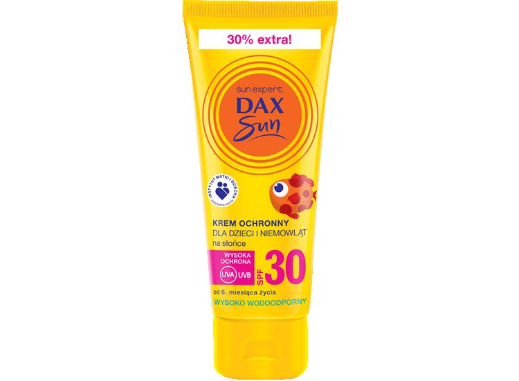 Krem ochronny dla dzieci i niemowląt na słońce SPF30