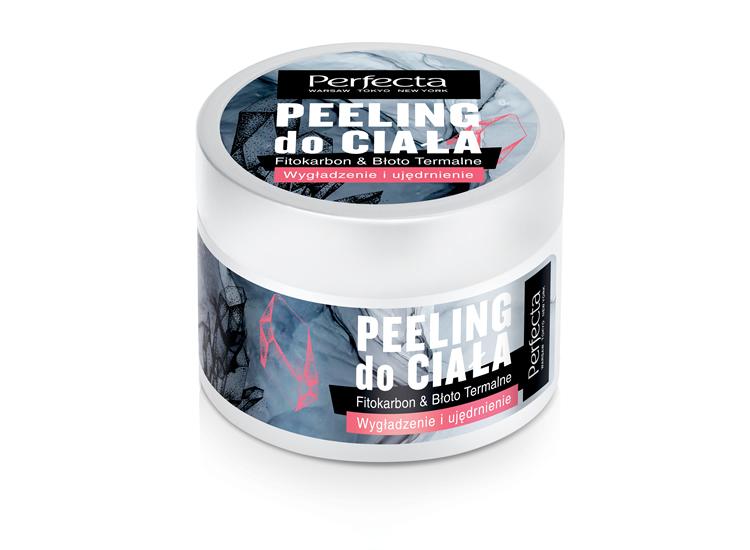 Peeling do ciała FITOKARBON, BŁOTO TERMALNE