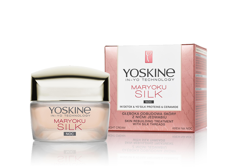 NIGHT CREAM - SKIN REBUILDING TREATMENT WITH SILK THREADS