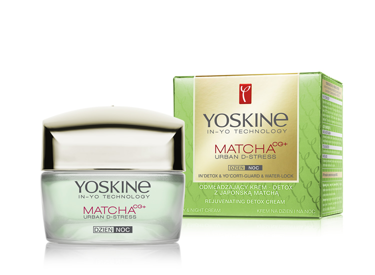 REJUVENATING DETOX DAY & NIGHT CREAM WITH JAPANESE MATCHA